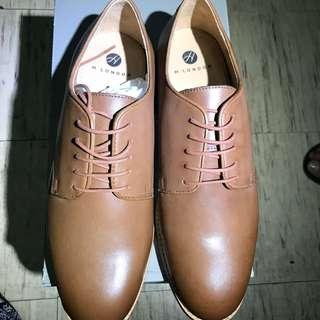 Hudson London Hadstone Leather Derby Formal Shoes (UK 10; US 11)
