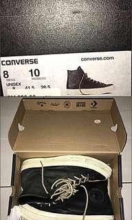 Seasoned Converse leather