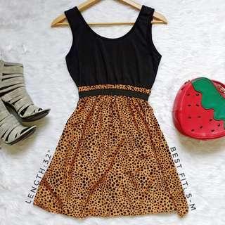 412 || Animal Print Dress
