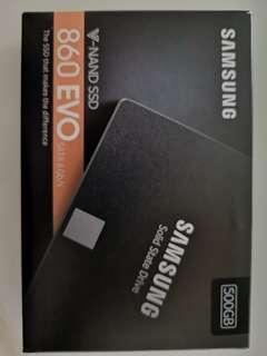 🚚 Samsung 860 Evo 500gb