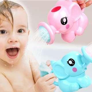 🚚 Cute Elephant Watering Pot Baby Bath Toy
