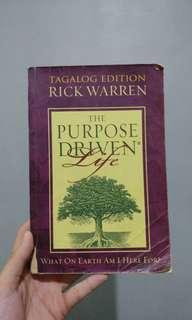 The Purpose Driven Life (tagalog)