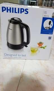 PHILIPS rust resistant stainless steel kettle