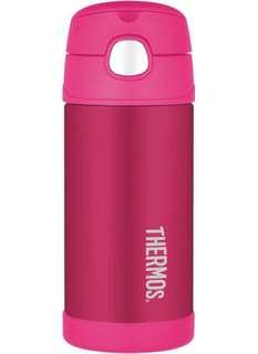Thermos 12oz Funtainer Bottle 膳魔師12安士飲管保温杯
