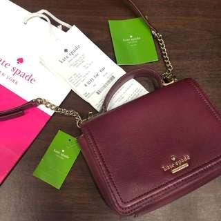 BNEW Authentic Kate Spade Maisie (complete inclusions)