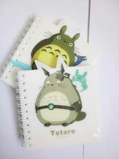 Limited Totoro Anime Forest Spirit Journal mini notebook