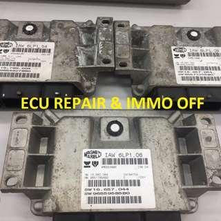 ECU PEUGEOT 407 / FIAT UKYSEE 2.0 16 V IAW 6LP1.06