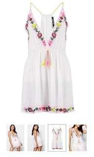 Beaded Beach Dress