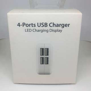 4-in-1 USB Charging Port