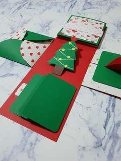 🚚 🎅聖誕節爆炸禮物盒🎅