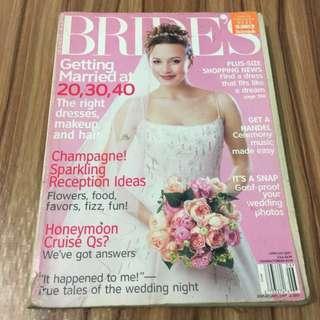 **FREE** Bride's Magazine June/July 2001