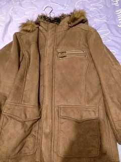日牌jacket baffy毛裡外套連帽