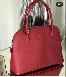 Hermes bolide 27 grenat authentic