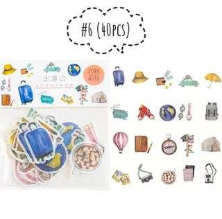 [S](#6-#8)Vacation theme stickers