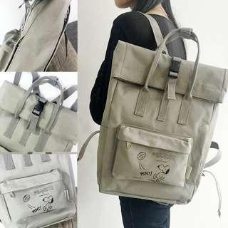 Snoopy 文青背包 backpack