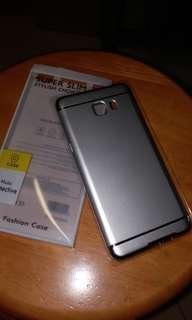 c9 pro phone case - silver