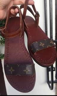 Handmade sandals and slippers with AUTHENTIC Canvas