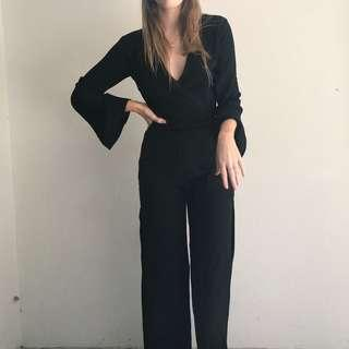 MAURIE AND EVE BLACK JUMPSUIT