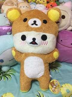 Fuzzy Korilakkuma in Rilakkuma Outfit Plush