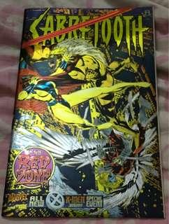 "SABRETOOTH ""IN THE RED ZONE"" Marvel Comics"