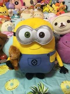 Minion with Teddy Bear Plush