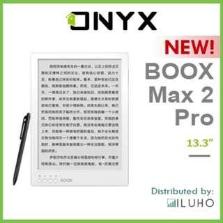"🚚 [BNIB] NEW! ONYX BOOX Max 2 Pro - 13.3"" Android E-reader"