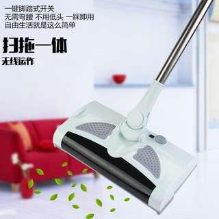 🚚 Cordless 2 in 1 Functions Sweep and Mop Floor Cleaning