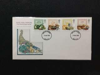 1989 Great Britain Food And Farming FDC #MY1212