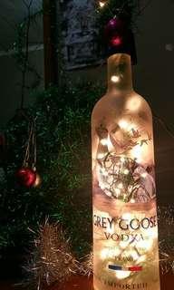 Lampu botol hias