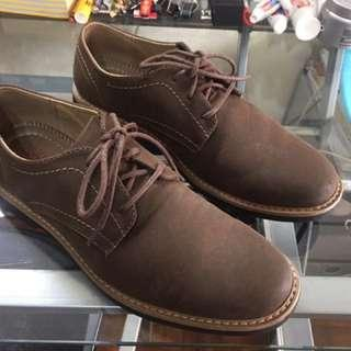 Dexter Brown Suede Leather Shoes Size 8.5