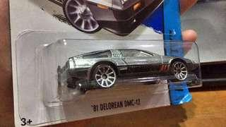 Hot wheels 81' Delorean DMC 12 #MY1212