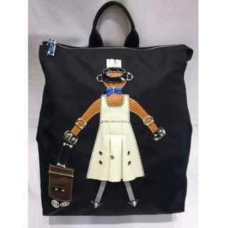 【預購】韓國   슈가맨(1329881):普拉達*手提雙肩背包(尺寸:寬度30長度33底部13公分)_免運。