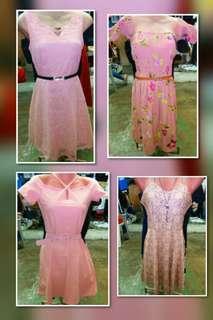 Peachy Dress for Christmas