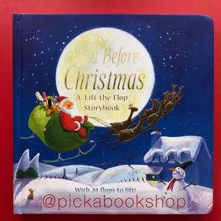 [Board Book] The Night Before Christmas  A Lift-the-flap - Clement C. Moore