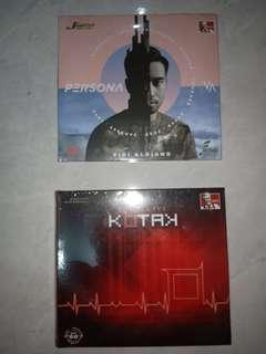 CD KFC ORIGINAL VIDI ALDIANO (PERSONA) & KOTAK (LONG LIVE)