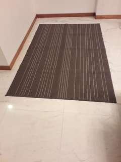 IKEA grey rug #MY1212