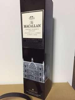 Macallan whisky maker's edition 700 12 18 21  30