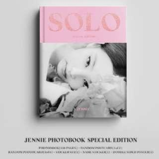 🚚 JENNIE PHOTO BOOK -SPECIAL EDITION- INCOMING STOCKS