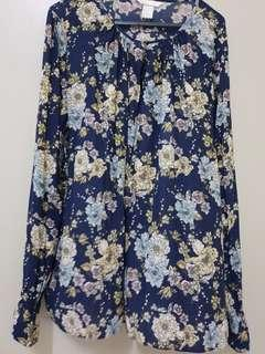 H&M Floral Top #my1212