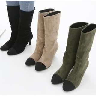 【預購】韓國   피카소2/Picasso2(1472047):合成革*靴子/女鞋(尺寸:225-250)_免運。