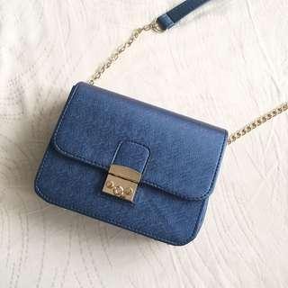CHLOE BLUE BAG