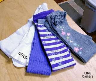 童裝類: 四舊一新襪褲