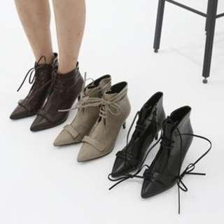 【預購】韓國   피카소2/Picasso2(1472076):PU*靴子/女鞋(尺寸:225-250)_免運。