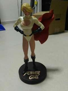 DC Power Girl statue comic