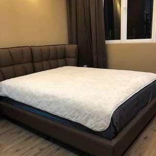 Bed Cover / Lapik Atas Cadar ( Sophea' Gebu Queen) 🐬