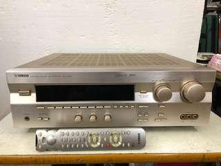 YAMAHA NATURAL SOUND AV  RECEIVER RX-V595