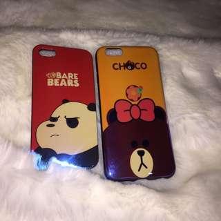 Case bear ip5/s & cony ip6