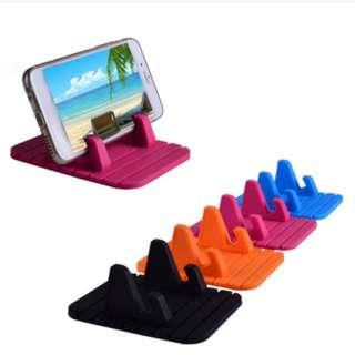 🚚 Universal Car Holder Anti-Slip Mat Mount Stand Bracket For Iphone, Samsung, Android, GPS