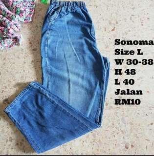 Ladies Plus Size Jeans #MY1212