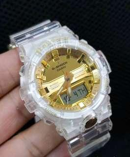 🚚 Authentic Brand New Casio G-Shock 35th Anniversary GA-835E-7A (Skeleton Gold Collection) Special Edition